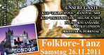 Folklore-Tanz am 26.11.11